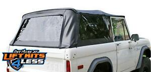 Rampage 98402 Complete Soft Top Kit For 1966 1977 Ford Bronco