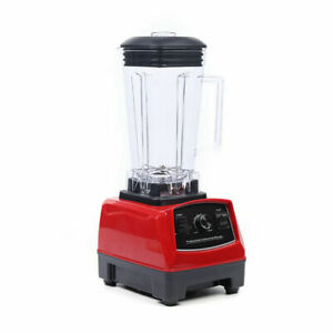 Professional Commercial Counter Top Blender Smoothie Maker 2hp 1500w 2l 4300rpm