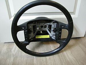1994 1995 1996 Ford Bronco F 150 F 250 F 350 Oem Factory Leather Steering Wheel