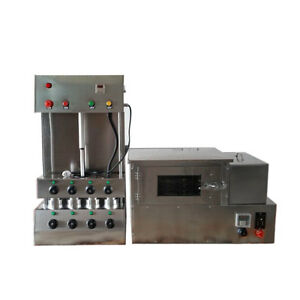 220v Commercial Pizza Cone Forming Making Machine With Pizza Rotational Oven