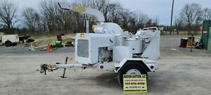 Vermeer 1250bc Wood Chipper 3678 Hours Hydraulic Feed Just Serviced