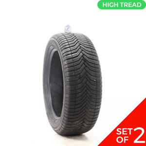 Set Of 2 Used 225 50r17 Michelin Crossclimate 98v 8 5 32