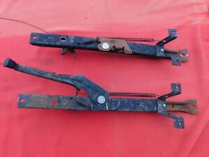 81 87 Chevy Truck Bench Seat Tracks 73 80 Front Pull