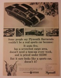 1965 Plymouth Barracuda Ad Must See