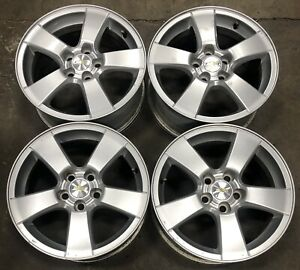 Chevy Cruze 16 Factory Oem Painted Silver Wheels Rims 11 16 5473 2586
