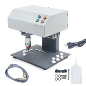 190 X 120mm Electric Metal Marking Engraving Machine 110v For Pvc Steel Aluminum