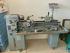 Clausing 4914 10 X 36 Metal Lathe With Accessories Local Pickup Only
