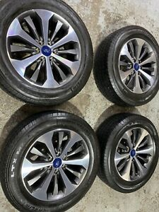 2004 20 Ford F150 20 Factory Oem Grey Machined Wheels Rims Tires Excellent Con