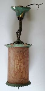 Antique Hanging Porch Or Hall Light Fixture