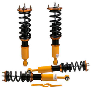 Coilover Suspension Kit For Lexus Is 300 Sportcross Wagon 97 05 Adj Damper