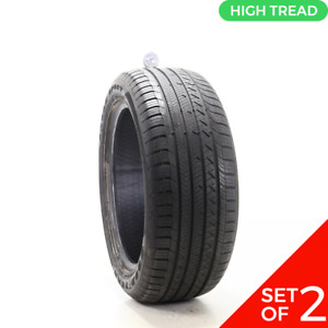 Set Of 2 Used 255 50r20 Goodyear Eagle Sport Ao 109h 9 5 32