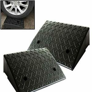 Reliancer 2 Rubber Curb Ramps Heavy Duty 44000 Lbs Threshold Ramp