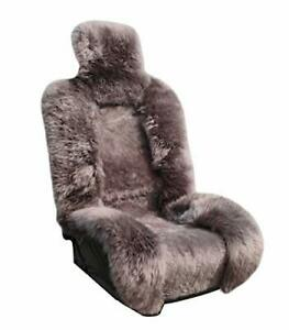 Genuine Sheepskin Seat Covers Lambskin Winter Cover Fuzzy Seat Cover