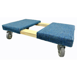Furniture Dolly Heavy Duty Durable Strong Solid Wood Construction 112lb Capacity