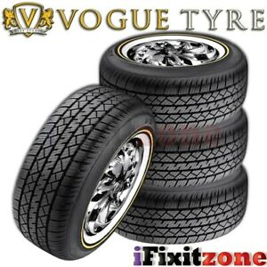 4 Vogue Tyre Custom Built Wide Trac Touring Ii 23560r16 100h Performance Tires Fits 23560r16