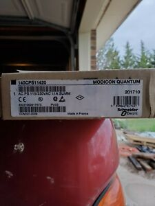 Item 1 140cps11420 New Sealed Modicon Ac Power Sply 140 cps 114 20 3 140cps114