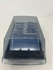 Rolodex Covered 2 25 X 4 Index Card File A z Tabs Vip24c With Unused Cards