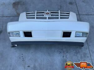 2007 2014 Cadillac Escalade Front Bumper Cover Panel With Grill Fog Light Oem