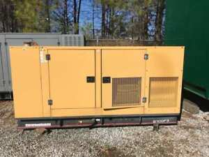 2002 Olympian 100 Kw Natural Gas Generator 295 Hours
