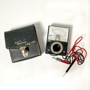 Sperry Multi tester Sp 140 W Case Leads Permanently Attached Ohms Tested