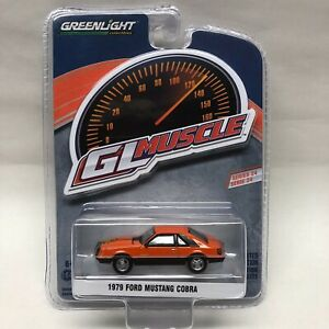 Greenlight Gl Muscle 1979 Ford Mustang Cobra 2021 Issue Foxbody Tangerine 5 0