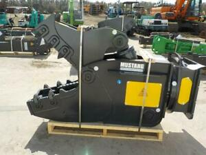New Mustang Rh16 Rotating Pulverizer For Excavator