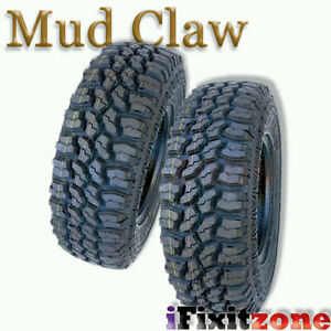 2 Mud Claw Extreme Mt 35x12 50r17lt 121q E All Terrain Performance Mud Tires