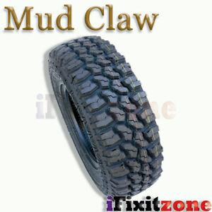 1 Mud Claw Extreme Mt 35x12 50r17lt 121q E All Terrain Performance Mud Tires