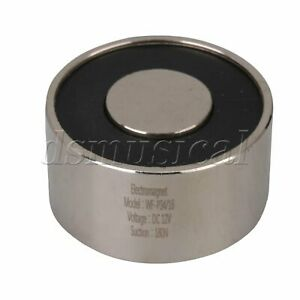 Dc12v Sucker Type Metal Suction Cup Electromagnet Silver P34 18 180n