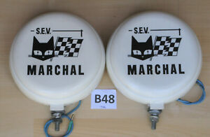 Marchal 889 Fog Driving Lights With New Covers Carello Hella Cibie