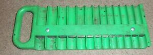 Mac Tools Magnetic 1 4 Socket Holder Shml 24 G Green 2 Available