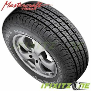 1 X Mastercraft Courser Hsx Tour 235 70r16 Owl 106t All Season Performance Tires