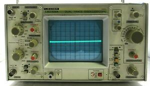 Leader Lbo 514a Dual Trace Oscilloscope 150mhz free Shipping