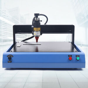 Electric Metal Cnc Marking Engraving Machine 300x200mm For Cooper Steel Aluminum