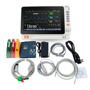 10 Multi parameter Monitor Icu Ccu Vital Sign Dental Patient Monitor Ecg Nibp