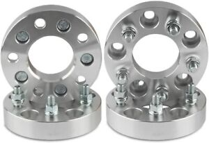 5x4 75 To 5x4 5 Wheel Adapters 1 25 Inch Use 5x114 3 Rims On 5x4 75 Cars 12x1 5