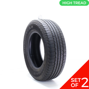 Set Of 2 Used 245 70r17 Goodyear Fortera Hl 108t 8 8 5 32