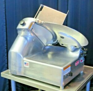 Berkel Commercial Auto manual Gravity Deli Meat Cheese Slicer