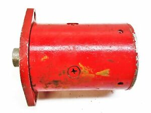 Western Plow Snow Plow Motor with Flat End Plate 56133 Used