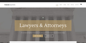 Website Lawyer Legal Paralegal Includes Hosting Email And Domain Name