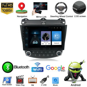 For Honda Accord 03 07 10 1 Android 9 1 Quad core Car Stereo Radio Gps Player
