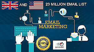 2021 New 23million Uk Usa Email List For Marketing Business Target Email List