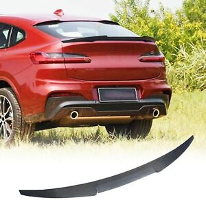 Fit For Bmw X4 G02 Suv 2019 2021 Rear Trunk Spoiler Lid Wing Carbon Fiber Refit