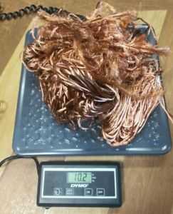 10 Lbs Clean Bare Scrap Copper Wire Crafts Jewelry Melting Casting