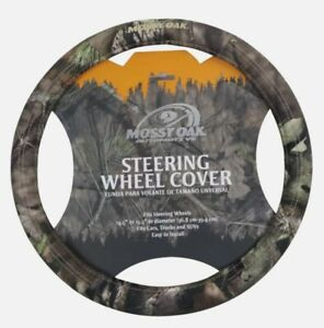 Mossy Oak 1pc Car Steering Wheel Cover Break up Country Camo Universal Fit