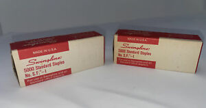 Swingline Standard Staples Lot Of 2 No Sf 1 Box Made Usa Office Supply Vintage