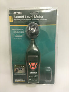 Extech 407732 Type 2 Digital Sound Level Meter 35 To 130 Db