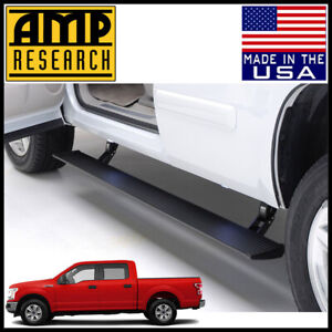 Amp Research Power Step Electric Running Boards Nerf Bars 2015 2020 Ford F 150