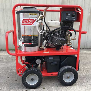 Used Hotsy 1075sse Gas diesel 4gpm 3500psi Hot Water Pressure Washer Low Hours