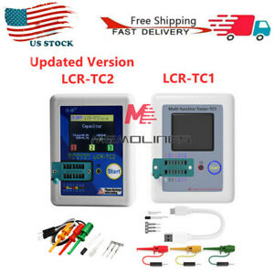 Upgraded Version Of High precision Transistor Tester Lcr tc1 tc2 For Mos pnp npn